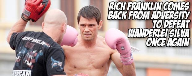 Rich Franklin comes back from adversity to defeat Wanderlei Silva once again