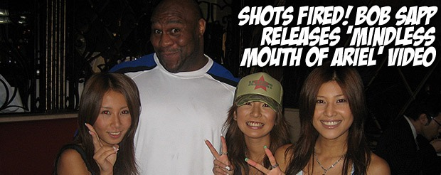 Shots fired! Bob Sapp releases 'Mindless Mouth of Ariel' video