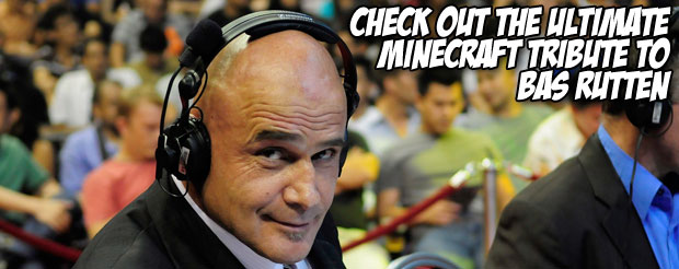 Check out the ultimate Minecraft tribute to Bas Rutten