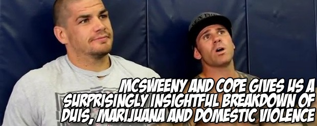 McSweeny and Cope gives us an insightful breakdown of DUIs, marijuana and domestic violence