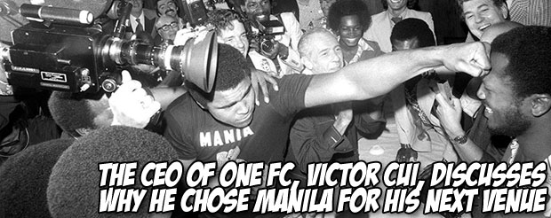 The CEO of ONE FC, Victor Cui, discusses why he chose Manila for the promotion's next venue