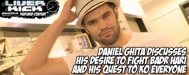 Daniel Ghita discusses his desire to fight Badr Hari and his quest to KO everyone