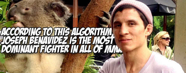 According to this algorithm, Joseph Benavidez is the most dominant fighter in all of MMA