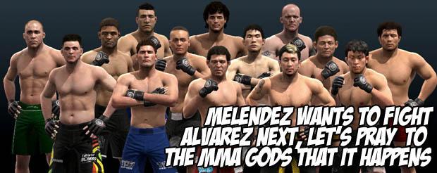 Melendez wants to fight Alvarez next, let's pray to the MMA gods that it happens