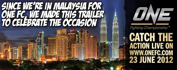Since we're in Malaysia for ONE FC, we made this trailer to celebrate the occasion