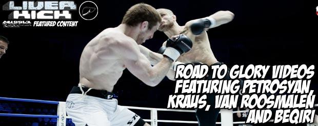 Road to Glory videos featuring Petrosyan, Kraus, Van Roosmalen and Beqiri