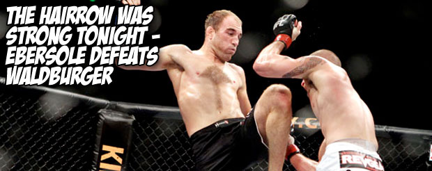 The Hairrow was strong tonight – Ebersole defeats Waldburger