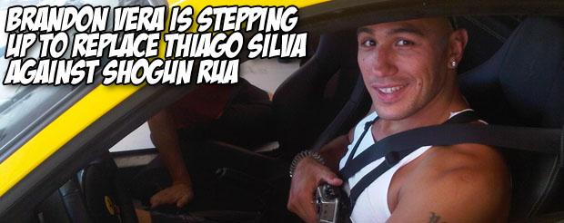 Brandon Vera is stepping up to replace Thiago Silva against Shogun Rua