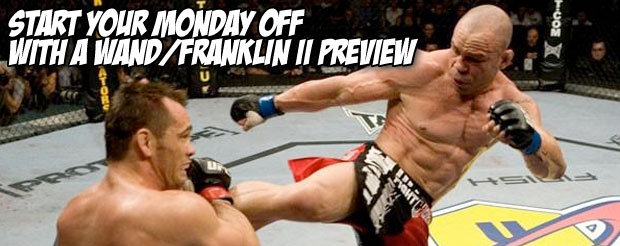 Start your Monday off with a Wand/Franklin II preview