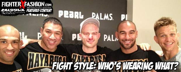 FighterXFashion | Fight Style: Who's Wearing What?