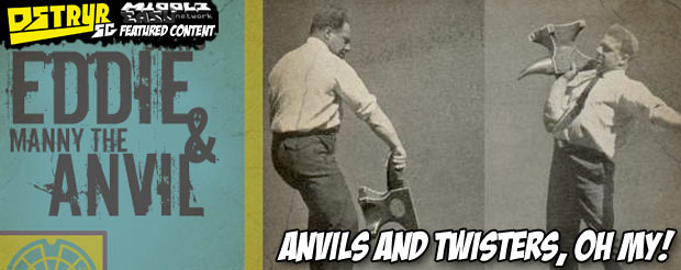 Anvils and Twisters, oh my! Watch Eddie Bravo and Manny Gamburyan roll