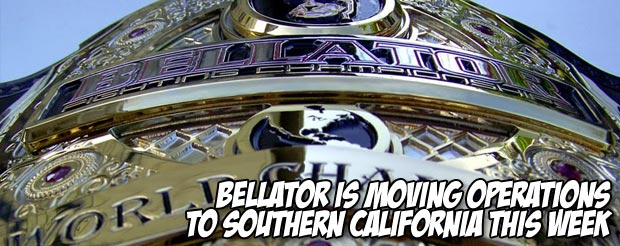 Bellator is moving to Southern California this week