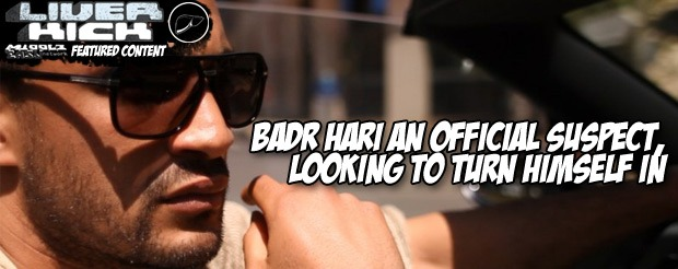 Badr Hari an official suspect, looking to turn himself in
