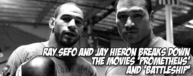 Ray Sefo and Jay Hieron breaks down the movies 'Prometheus' and 'Battleship'