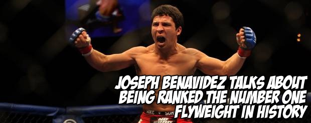 Joseph Benavidez talks about being ranked the number one flyweight in history