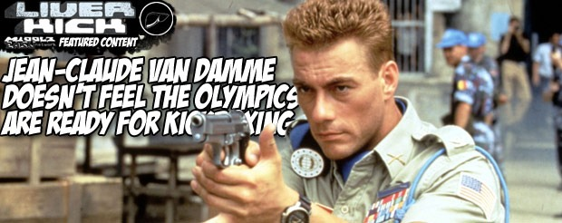 Jean-Claude Van Damme doesn't feel the Olympics are ready for kickboxing