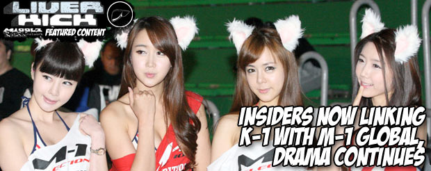 Insiders now linking K-1 with M-1 Global, drama continues