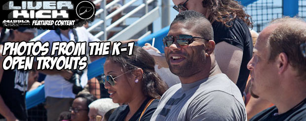 Photos from the K-1 open tryouts