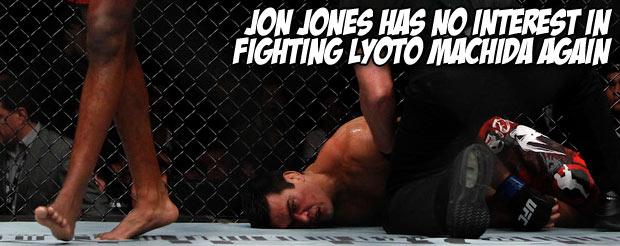 Jon Jones has no interest in fighting Lyoto Machida again