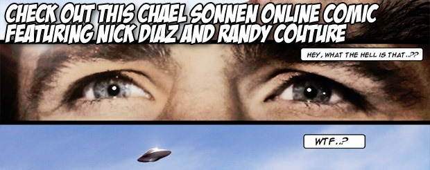 Check out this Chael Sonnen online comic featuring Nick Diaz and Randy Couture