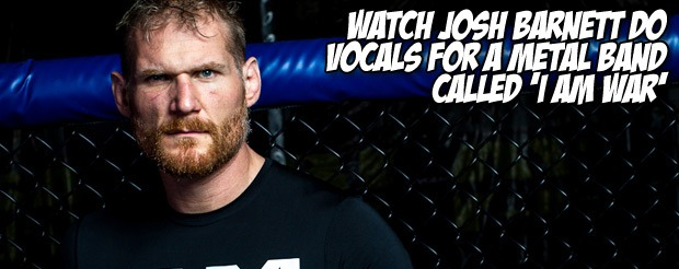 Watch Josh Barnett attempt to do math, talk women's MMA, and give music suggestions in this video
