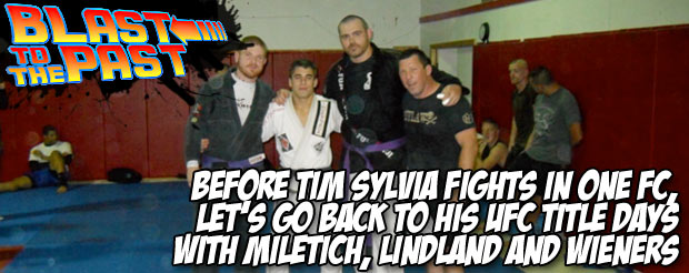 Before Tim Sylvia fights in ONE FC, let's go back to his UFC title days with Miletich, Lindland and wieners