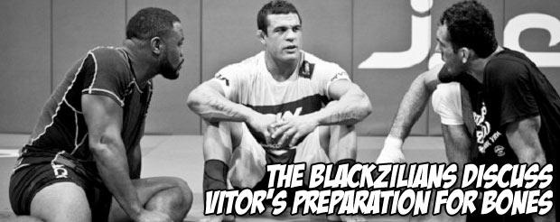 The Blackzilians discuss Vitor's preparation for Bones