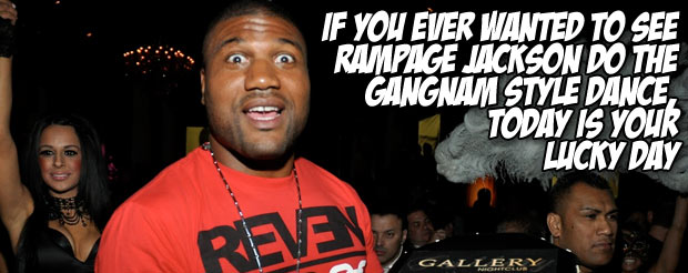 If you ever wanted to see Rampage Jackson do the Gan