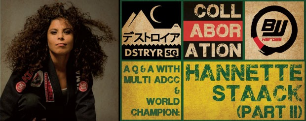 Exclusive/BJJ Heroes x D/SG Collab: A Q&A with ADCC world champion Hannette Staack