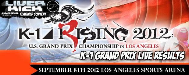 K-1 Grand Prix live results