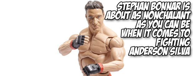 Stephan Bonnar is about as nonchalant as you can be when it comes to fighting Anderson Silva