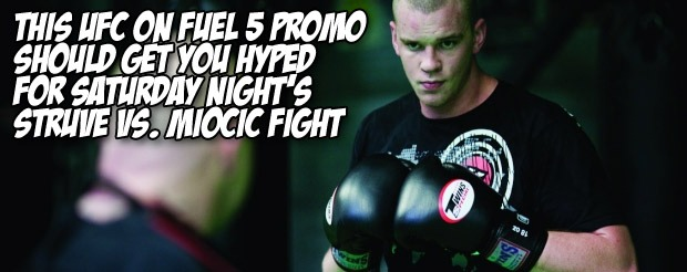 This UFC on FUEL 5 promo should get you hyped for Saturday night's Struve vs Miocic fight