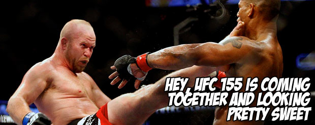 This UFC 155 trailer by NickTheFace will make you run to the top of a mountain and scream