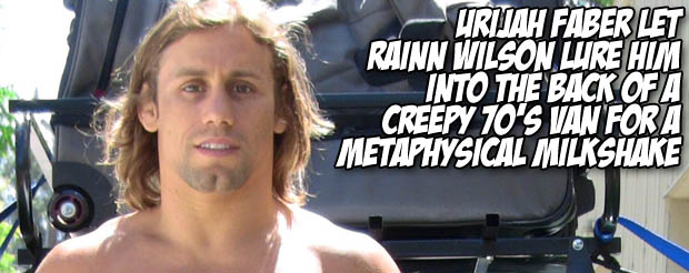 Urijah Faber confirms his love of Street MMA to us, then talks about his rib injury and female MMA