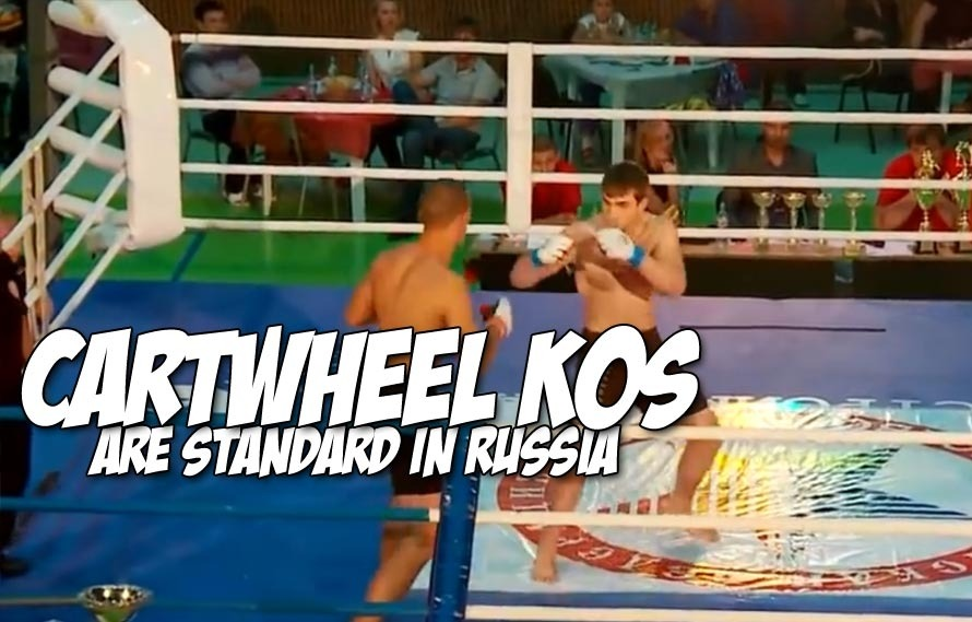 Cartwheel kick knockouts from Russia need to be celebrated, just like Thanksgiving