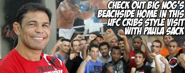 Check out Big Nog's beachside home in this UFC cribs style visit with Paula Sack