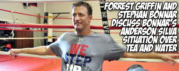 Stephan Bonnar and Forrest Griffin discuss Bonnar's Anderson Silva situation over tea and lemon water