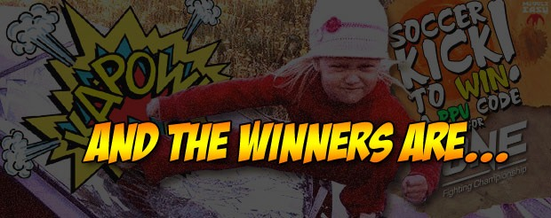 Check out the videos from the winners of our ONE FC Soccer Kick contest!
