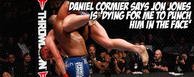 Daniel Cormier says Jon Jones is 'dying for me to punch him in the face'