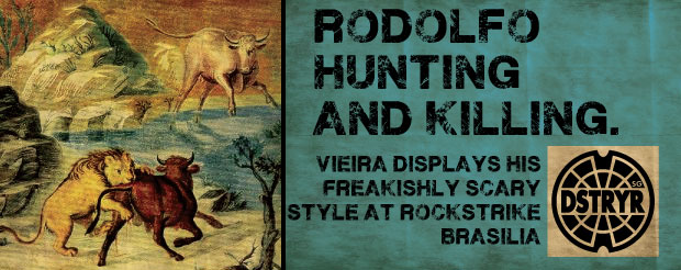 Wanna see Rodolfo Vieira manhandling his defenseless prey? Yeah, you do…