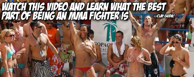 Watch this video and learn what the best part of being an MMA fighter is