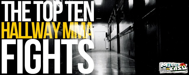 Check out The Top Ten Hallway MMA Fights in Hallway MMA Fight History