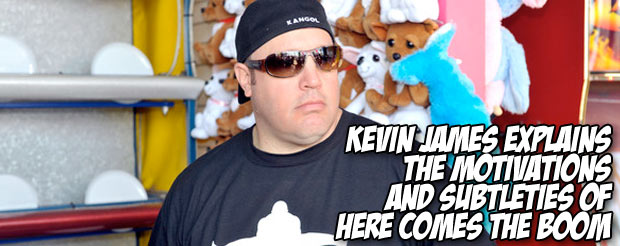 Kevin James explains the motivations and subtleties of Here Comes The Boom