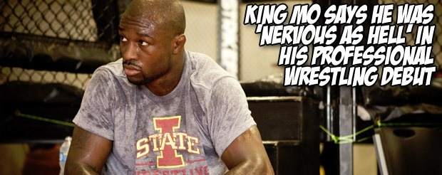 King Mo says he was 'nervous as hell' in his professional wrestling debut