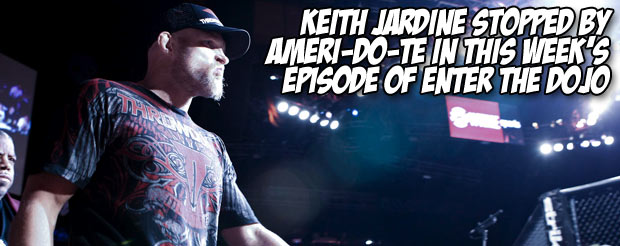 Keith Jardine stopped by Ameri-Do-Te in this week's episode of Enter the Dojo
