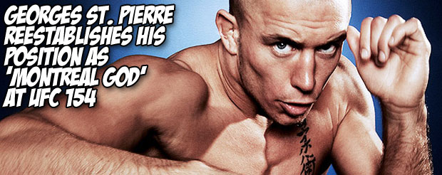 Georges St. Pierre reestablishes his position as 'God of Montreal' at UFC 154