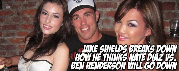 Jake Shields breaks down how he thinks Nate Diaz vs. Ben Henderson will go down