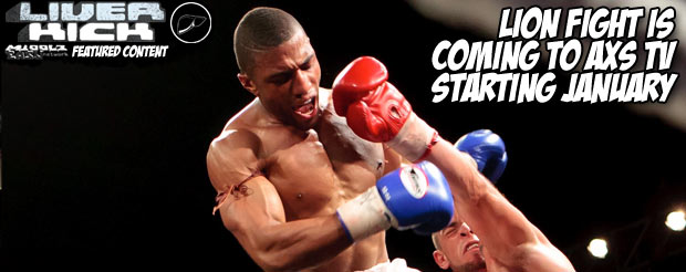 Lion Fight is coming to AXS TV starting January