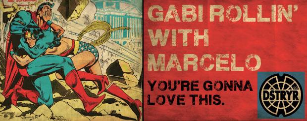When Marcelo met Gabi (on the mat)