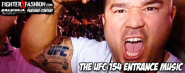 The UFC 154 entrance music – MiddleEasy com